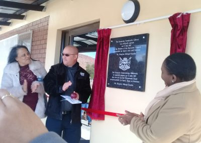 OPENING OF KAMASSIES LIBRARY 3